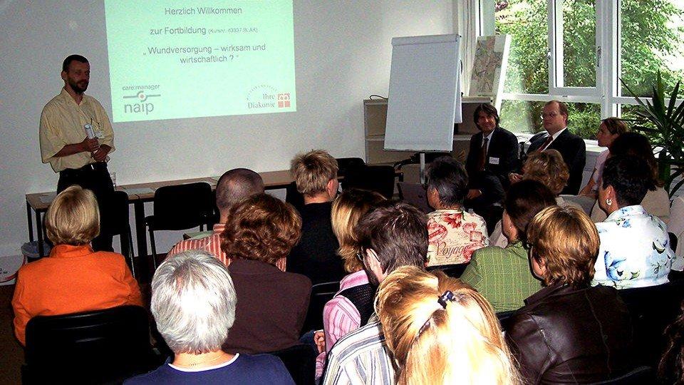Wundfortbildung in Erlangen