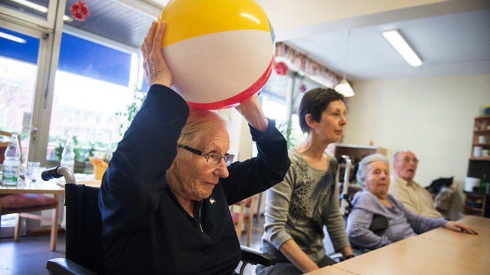 Mobilitätsförderung bei Demenz