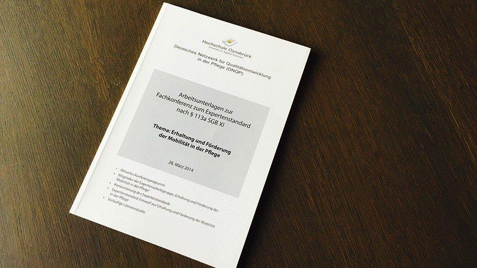 Expertenstandard Mobilität (Vorabfassung)