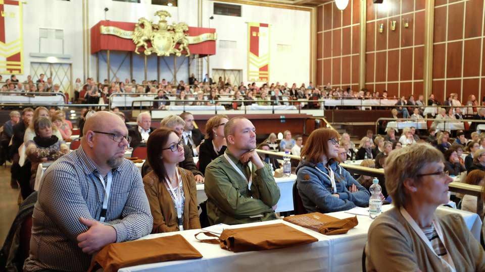 Plenum des JHC 2016.