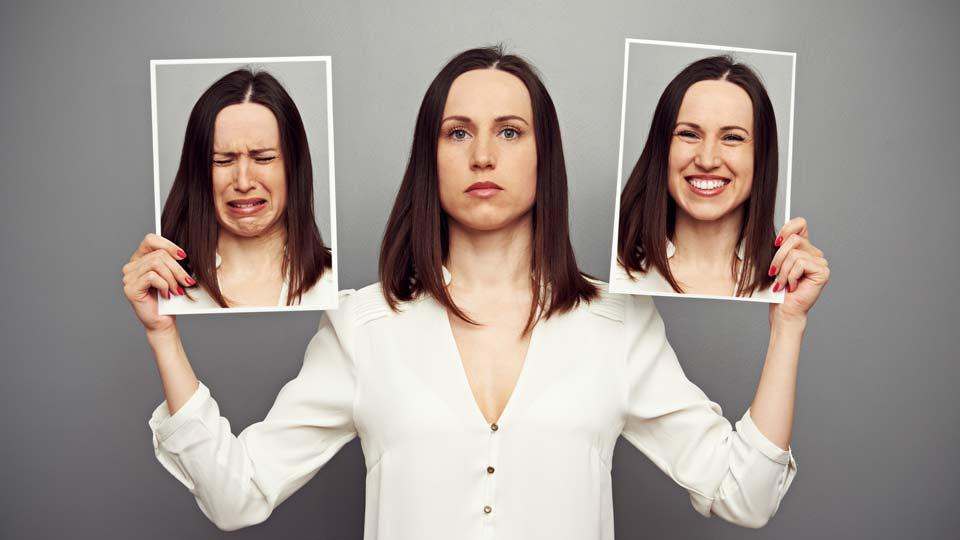 Die Bipolare Störung wird auch als die Krankheit mit den zwei Gesichtern bezeichnet, da Betroffene zu starken phasenweisen Stimmungsschwankungen neigen