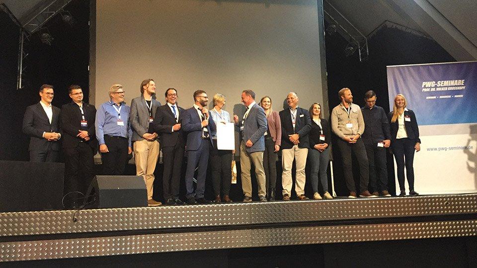 JuraHealth Congress 2019: Die Teilnehmer und Teilnehmerinnen des Innovationsforums.