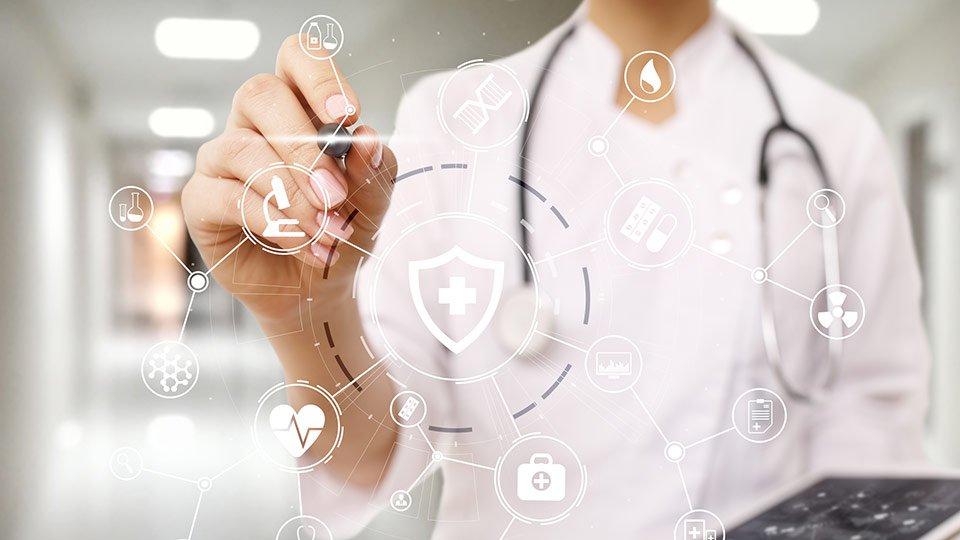 Digitalisierung im Gesundheitswesen.