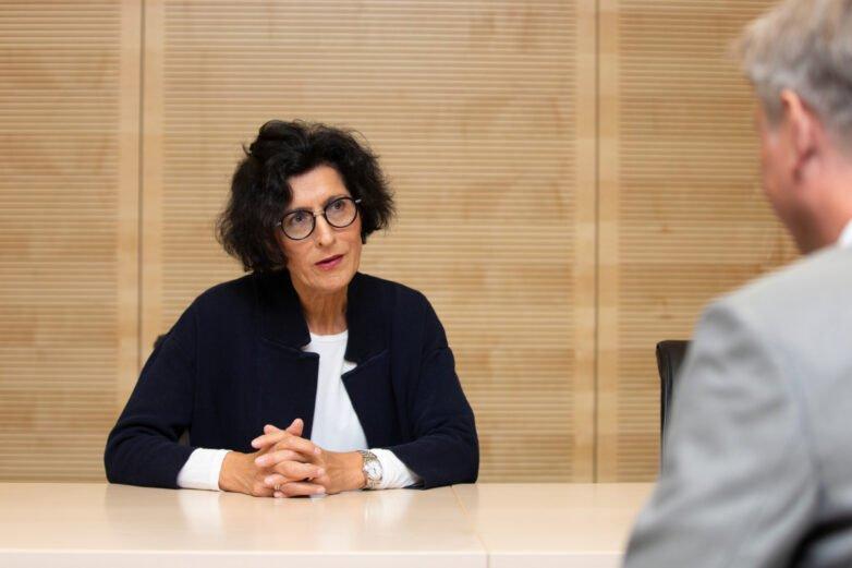 Vera Lux, die neue Pflegedirektorin der Medizinischen Hochschule Hannover (MHH).