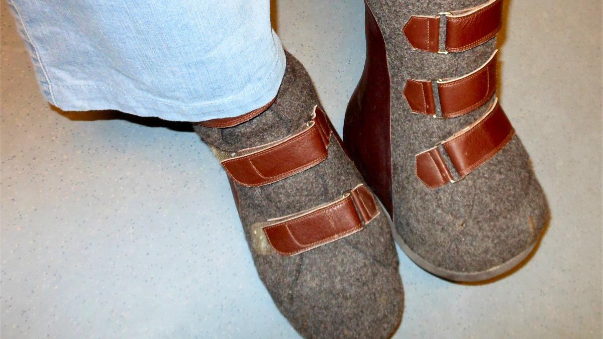 Einschränkungen bei der Schuhauswahl