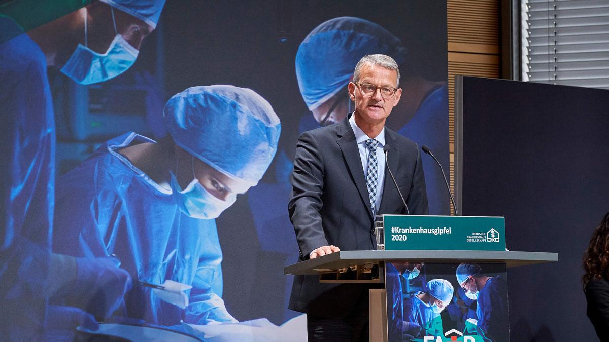 Herr der Krankenhäuser: Dr. Gerald Gaß