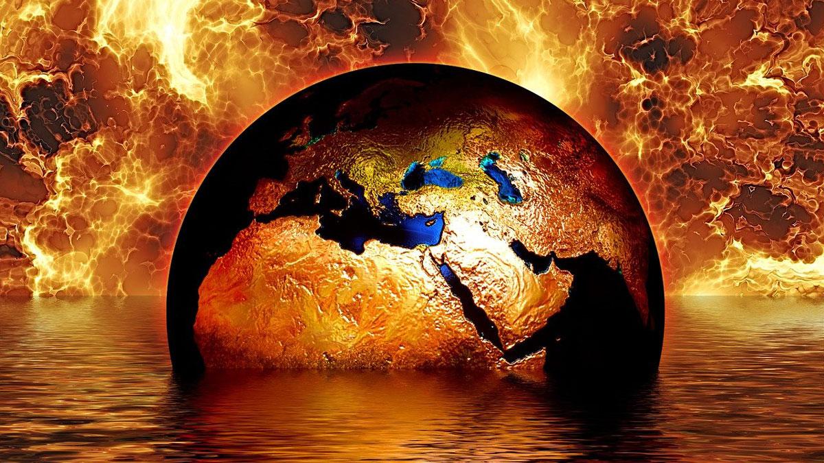 Klimawandel Erdball